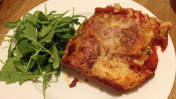 roasted vegetable lasagna